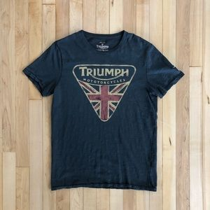 ✨ Triumph Motorcycles by Lucky Brand Tee Size S